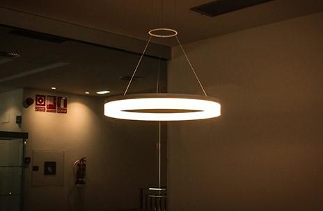 hostel guiana iluminación